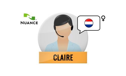 Claire Nuance Voice