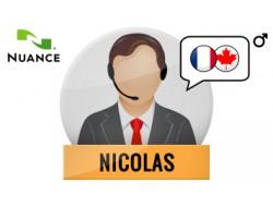 Nicolas głos Nuance