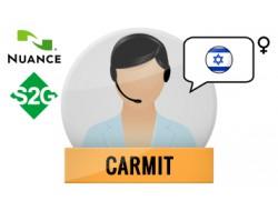 S2G + Carmit Nuance Voice