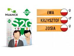 S2G + 3 głosy Nuance polskie
