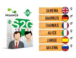 S2G + 6 European Nuance Voices