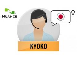 Kyoko głos Nuance