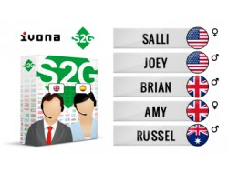 S2G + 5 głosów angielskich