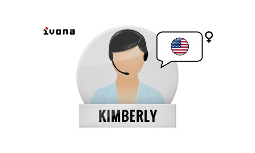 Kimberly american Ivona voices | Ivona Software | Harposoftware.com Internet Shop