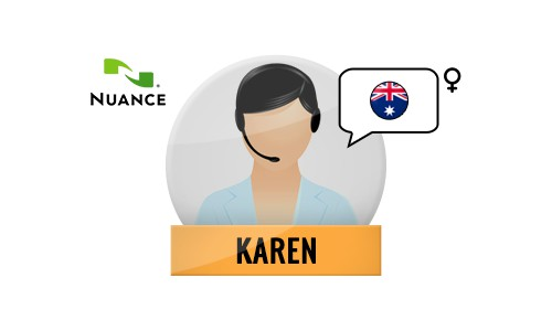 Karen Nuance Voice