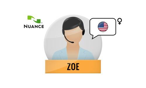 Zoe Nuance Voice