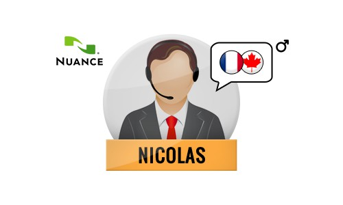 Nicolas Nuance Voice