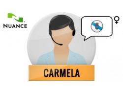 Carmela głos Nuance