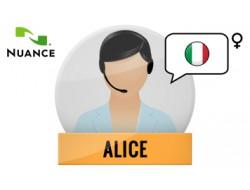 Alice głos Nuance