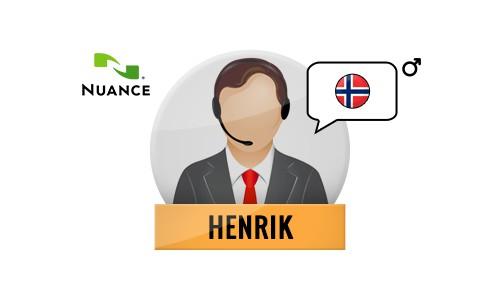 Henrik Nuance Voice