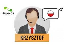 Krzysztof głos Nuance