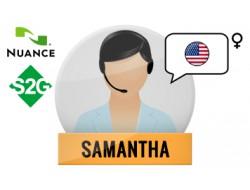 S2G + Samantha Nuance Voice