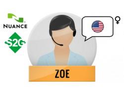 S2G + Zoe głos Nuance