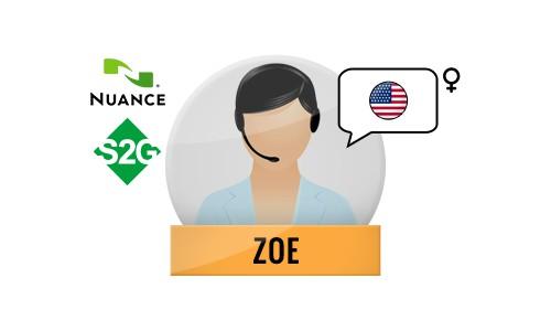 S2G + Zoe Nuance Voice