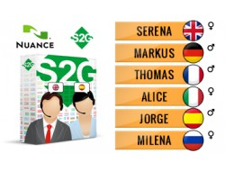 S2G + 6 głosów Nuance europejskich
