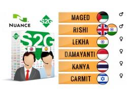 S2G + 6 głosów Nuance orientalnych
