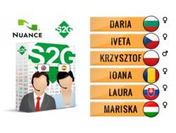 S2G + 6 głosów Nuance środkowo-europejskich