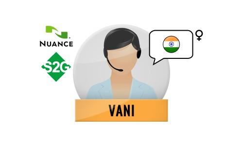 S2G + Vani Nuance Voice