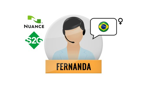 S2G + Fernanda Nuance Voice