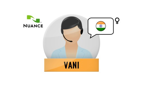 Vani Nuance Voice