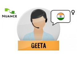 Geeta głos Nuance