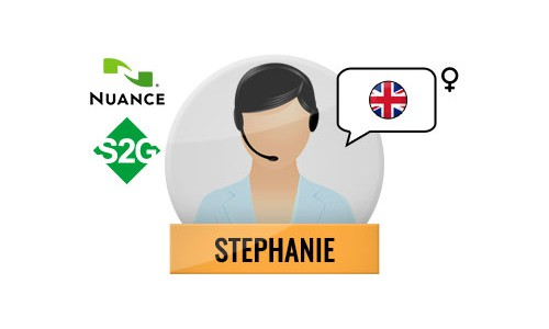 S2G + Stephanie Nuance Voice