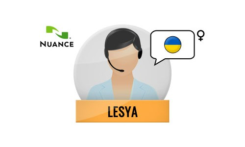 Lesya Nuance Voice